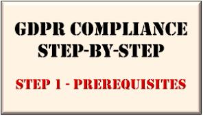 GDPR Prerequisites