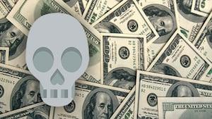 money-skull